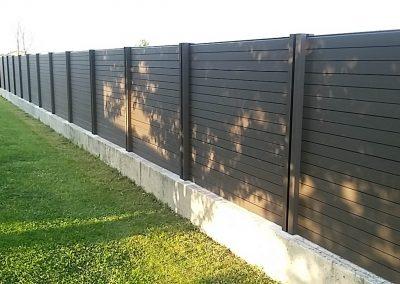 Posa in opera recinzioni per abitazioni a Treviso e Belluno